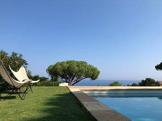 Villa Heaven Blue,vue mer,piscine ,rénovée, plein pieds, Domaine de la Nartelle
