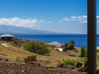 SPECTACULAR OCEAN AND COASTLINE VIEWS FROM THIS KOHALA ESTATES BEAUTY!