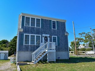 Three bedroom home with central air located .2 miles to South Village Beach