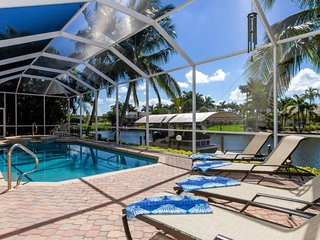 Cape Vista,Vacation Home, three bedroom, 2.5 bathroom gulf access property with
