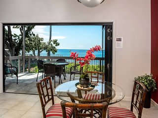Ocean's Edge Paradise w/Lanai, Chic Kitchen, Laundry, AC, TVs+WiFi–Kanaloa at