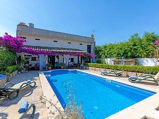 Ursula/Casa des Puig - En el romantico pueblo de Buger con piscina