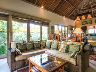 Artful 3bed/3bath Villa And Bungalow in the Rice Fields/best Breakfast in Bali