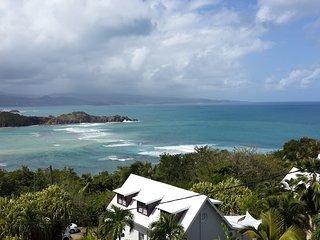 Tartane Appartement Villa Caravelle - superbe vue mer - 4 min a pied de la plage