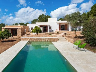 5 bedroom Villa in Es Cubells, Balearic Islands, Spain : ref 5678979