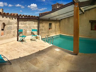 Pezenas historic townhouse with pool sleeps 4, South France