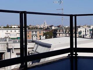 Attico/superattico 300mq-2 terrazze- 8/9 letti