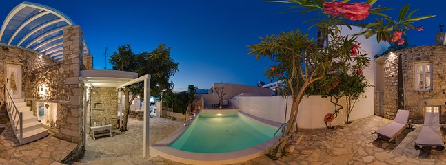 360° Photo,outside area, heatable Pool