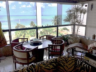 Wonderful Ocean View, Balcony & Natural Pools! Boa Viagem, Recife