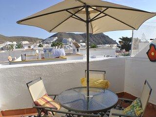 Ático Cabo de Gata. A 100 metros de la playa. Aire acondicionado y Wifi