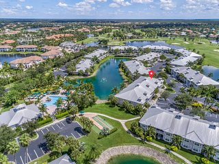Lakefront home w/ water views, on-site golf, shared pool & hot tub, & tennis!