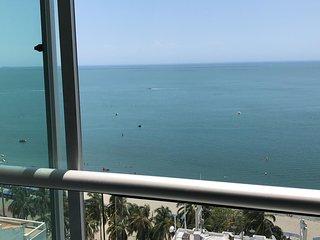Apartamento frente al mar, Rodadero.