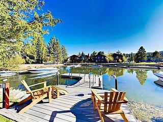 Alpine Lake BrinzerHaus with Loft & Boat Dock | Tahoe Keys