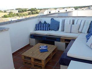 Casa con piscina y vistas en  Vejer de la Frontera