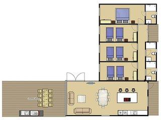 4 bedroom Villa in Cala'N Blanes, Balearic Islands, Spain : ref 5334752