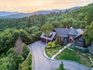 Solitude At Sunday River.  Immaculate Custom Home on 5 Private Acres with Pond.