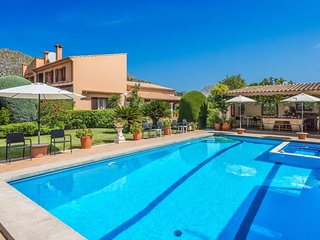 6 bedroom Villa in Cala San Vicente, Balearic Islands, Spain : ref 5669590