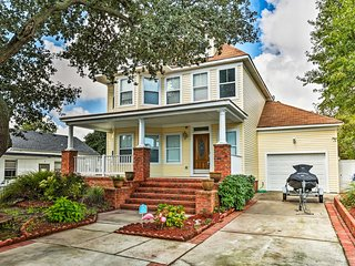NEW! Stately Norfolk Home w/Grill - Walk to Beach!