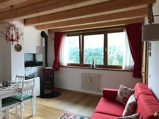 Casa Romeo la tua casa a due passi da Cortina con bellissima vista 'Monte Pelmo'