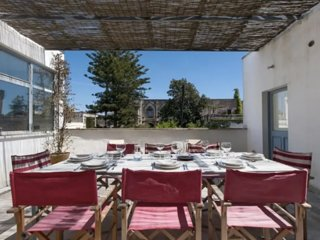 Family friendly villa in stunning southern Puglia- terrace with a castle view!