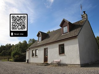 Balnabodach a haven in the Highlands Pets welcome Private fishing available