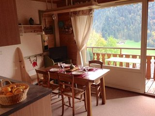 Bel appartement face aux Aravis (GRA131)