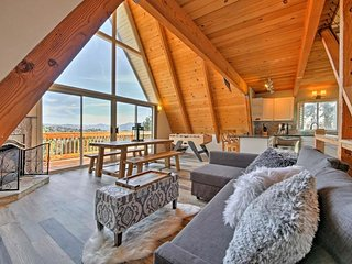 NEW LISTING! Modern cabin w/ private hot tub, entertainment & lake passes