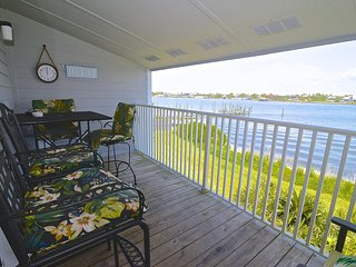 2BR / 2BA | Waterfront Condo | Beautiful Balcony Views | Boat Docks