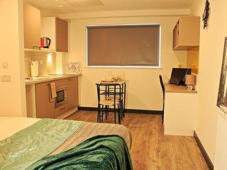 Stylish apart/hotel studio, 24hr reception, fitness room (Apartment 464)