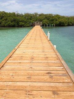 Resort type condo with Caribbean sea view