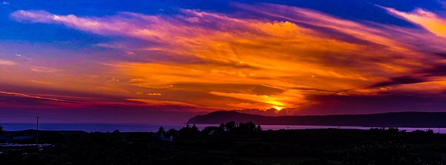 Sunset Dunmanas by Paul Levy