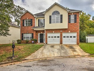 NEW! Private Stone Mountain Home - Walk Everywhere