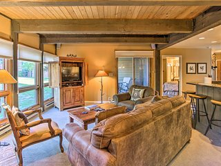 NEW! Steamboat Springs Rustic Resort Condo w/Patio