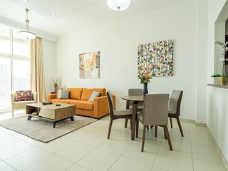 Stylish + Spacious 1BR in Business Bay