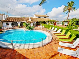 Finca San Jaime - sea view holiday home with private pool in Benissa