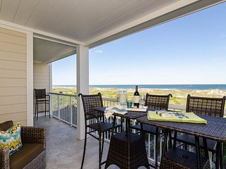 High-end luxury abounds in this completely remodeled ocean-front standout.