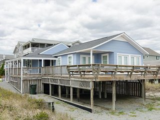 Make summertime memories at this quaint oceanfront cottage in central WB