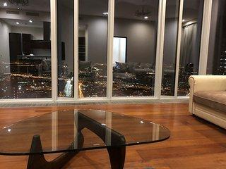 74 Floor Apartment In MoscowCity (Апартамент на 74 этаже МоскваСити 2 спальни)