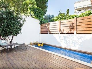 PETIT PARADIS piscina privada Centro Sitges