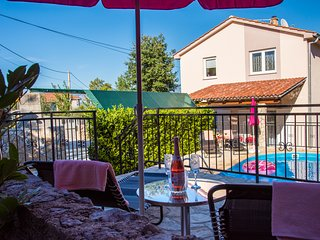 Holiday Apartment With A Private Swimming Pool, Fenced Garden And BBQ