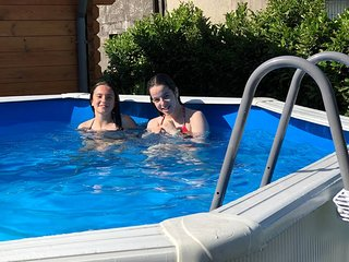 Casa 3 open space com acesso a piscina