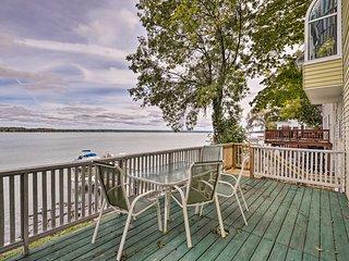 NEW! Lakefront Seneca Falls Home w/Dock & Fire Pit