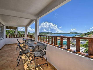 NEW! Culebra Apt. w/Ocean Views - Walk to Town!