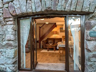 Cosy Entrance to Wrynose Cottage