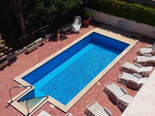 Swimming pool retiled in May 2018