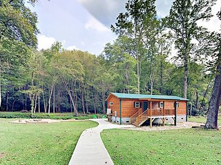 Eagle's Nest + Creekside = 2 Cabins on Peaceful Stream - Near National Forest