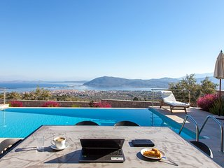 Modern Villa in Lefkada with sea views and all the luxury you will need