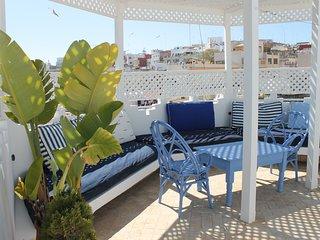 Maison dans la médina de Tanger avec terrasse panoramique