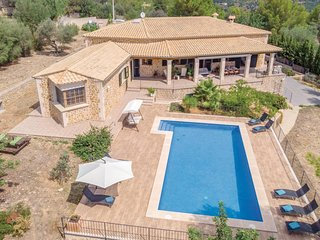4 bedroom Villa in s'Esgleieta, Balearic Islands, Spain : ref 5617907