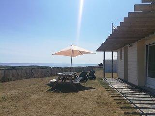 Maison pleine vue mer/ocean/phare, proche plage, 6 pers, Bretagne
